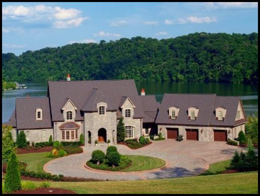Knoxville luxury lake home sold in lashbrooke luxury for Luxury lake house