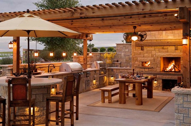 Impressive Outdoor Patio Kitchen 640 x 424 · 120 kB · jpeg
