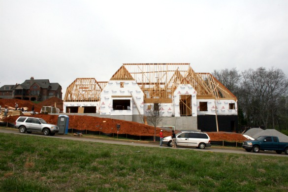 Knoxville Luxury Custom Homes Under Construction In Farragut S Bridgemore Luxury Homes Of Knoxville